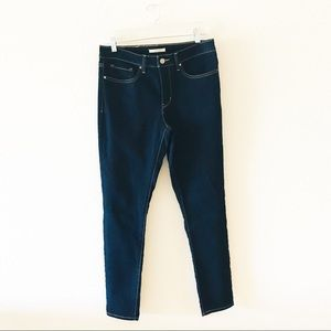 Women's Levi's Dark Blue 311 Shaping Skinny Jean.